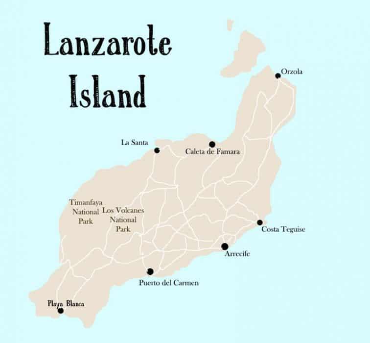 Dónde alojarse en Lanzarote 1