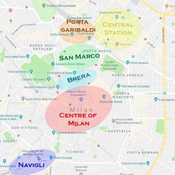 Dónde alojarse en Milán 1
