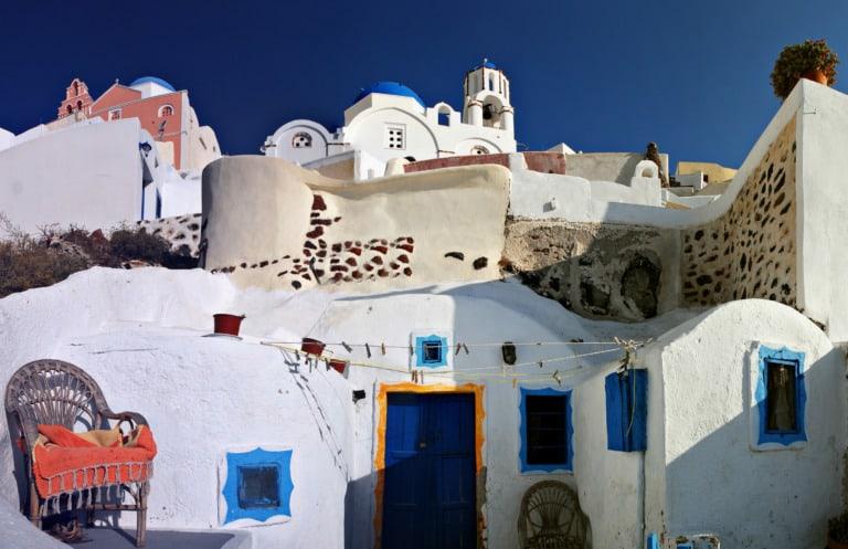 Dónde alojarse en Santorini 14