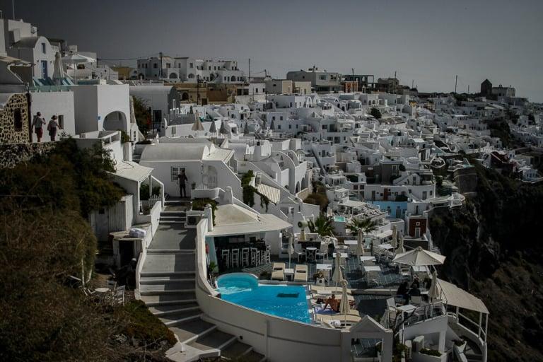 Dónde alojarse en Santorini 10