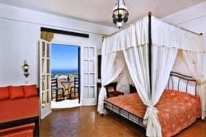 Dónde alojarse en Santorini 37
