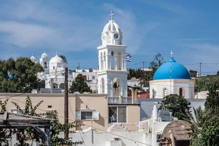 Dónde alojarse en Santorini 34