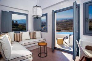 Dónde alojarse en Santorini 28