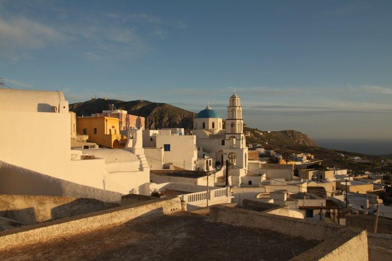 Dónde alojarse en Santorini 26