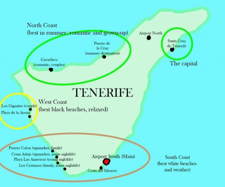 Dónde alojarse en Tenerife 1