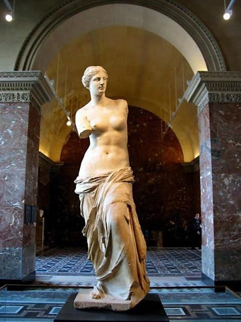 25 esculturas griegas más famosas 25