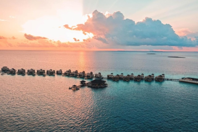 10 mejores hoteles sobre agua de Maldivas 4