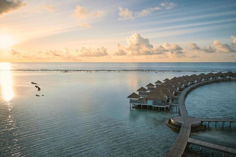 10 mejores hoteles sobre agua de Maldivas 7