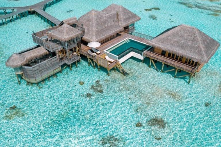 10 mejores hoteles sobre agua de Maldivas 8