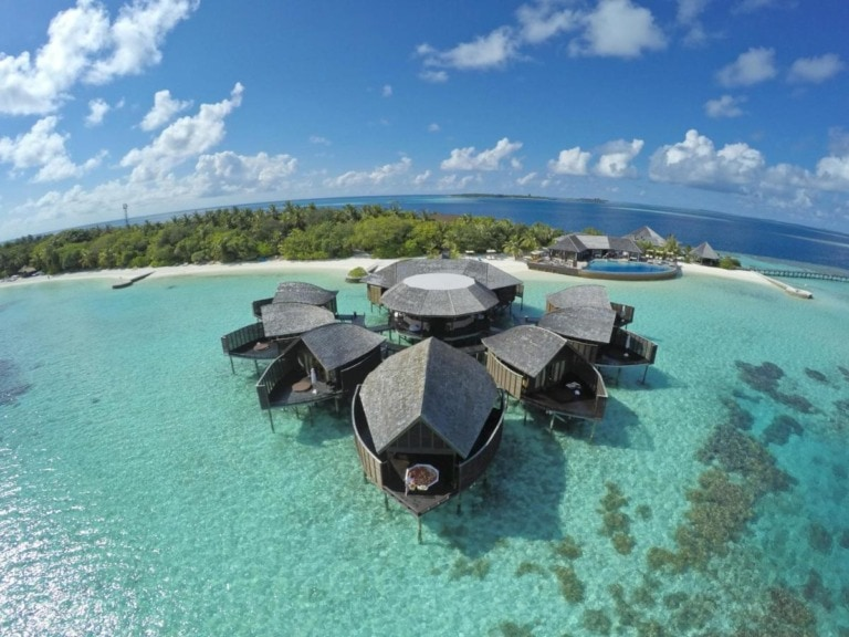 10 mejores hoteles sobre agua de Maldivas 9