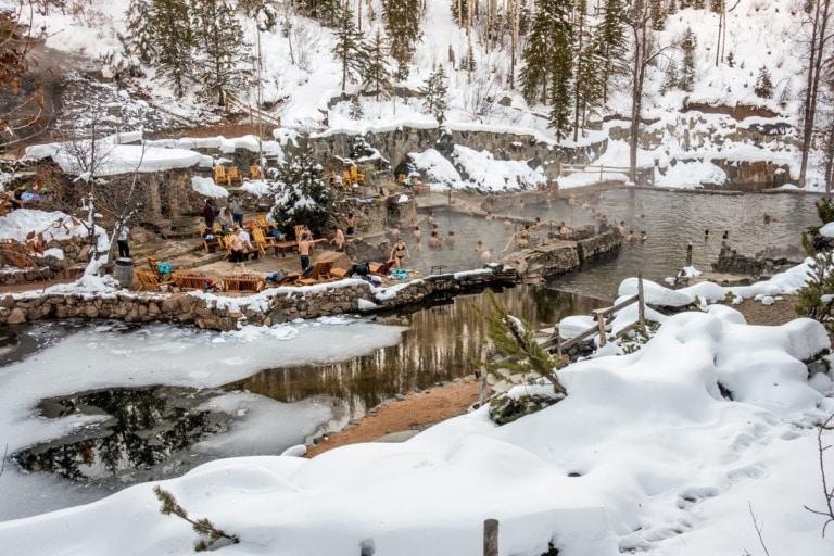 12 mejores aguas termales en Colorado 2