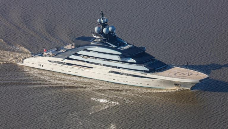 10 yates más grandes del mundo 10
